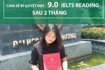 Ngọc Trang – Chia sẻ Bí Quyết Đạt 9.0 IELTS Reading Sau 2 Tháng