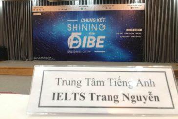 IELTS Trang Nguyễn là nhà tài trợ cho cuộc thi Shining With Fibe 2019