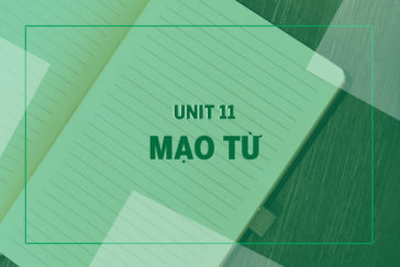 UNIT 11: MẠO TỪ A, AN, THE