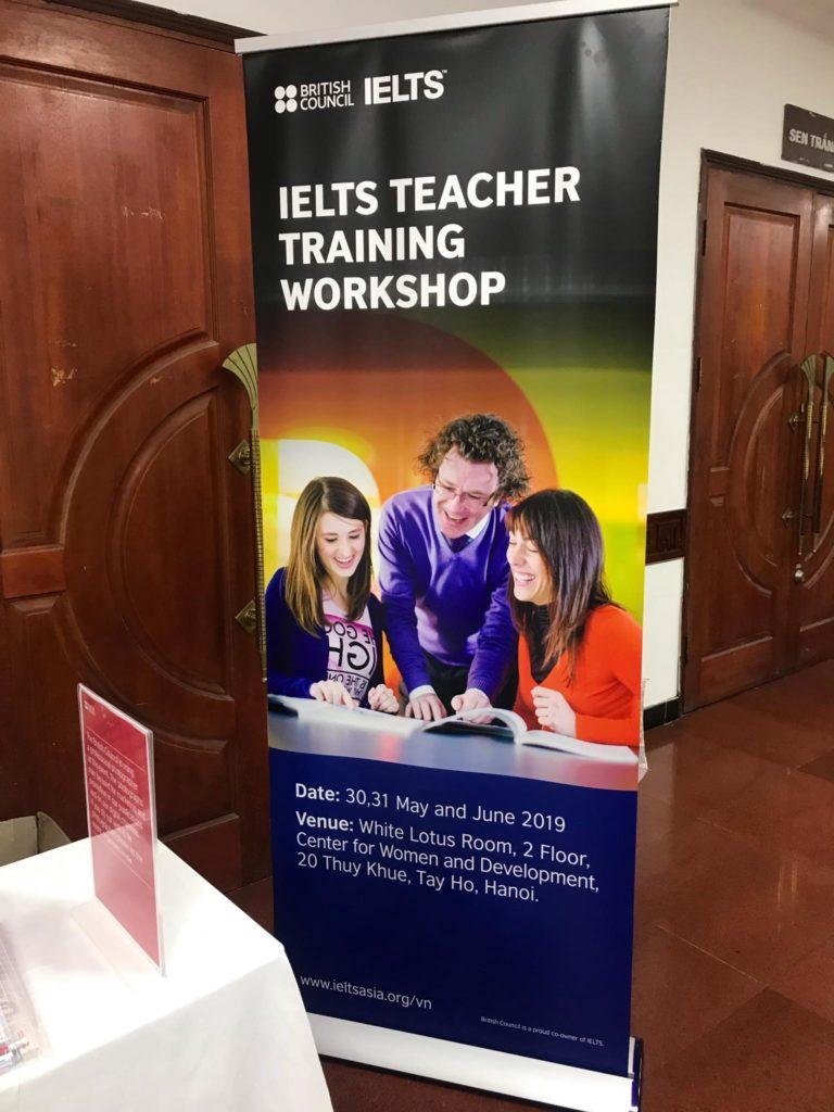 Đội ngũ giáo viên IELTS Trang Nguyễn tham gia tập huấn tại British Council