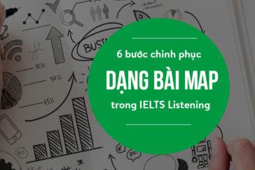 6 bước chinh phục dạng bài Map trong IELTS Listening