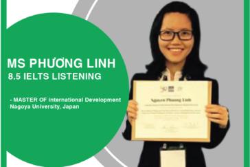 Cô Phương Linh – 8.5 IELTS Listening