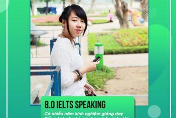 Ms. Phương Lan – 8.0 IELTS Speaking