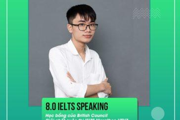 Mr. Tùng Lâm – 8.0 IELTS Speaking