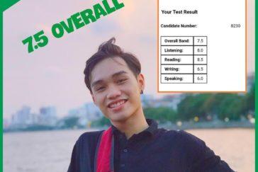 Nguyễn Đức Thịnh – 7.5 Overall
