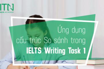 Ứng Dụng Cấu Trúc So Sánh Trong IELTS Writing Task 1
