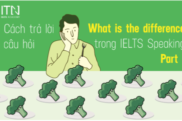 "CÁCH TRẢ LỜI CÂU HỎI ""WHAT IS THE DIFFERENCE"" TRONG IELTS  SPEAKING"