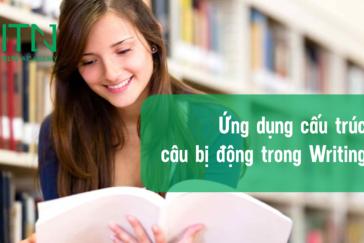 CÂU BỊ ĐỘNG VÀ ỨNG DỤNG TRONG IELTS SPEAKING & WRITING