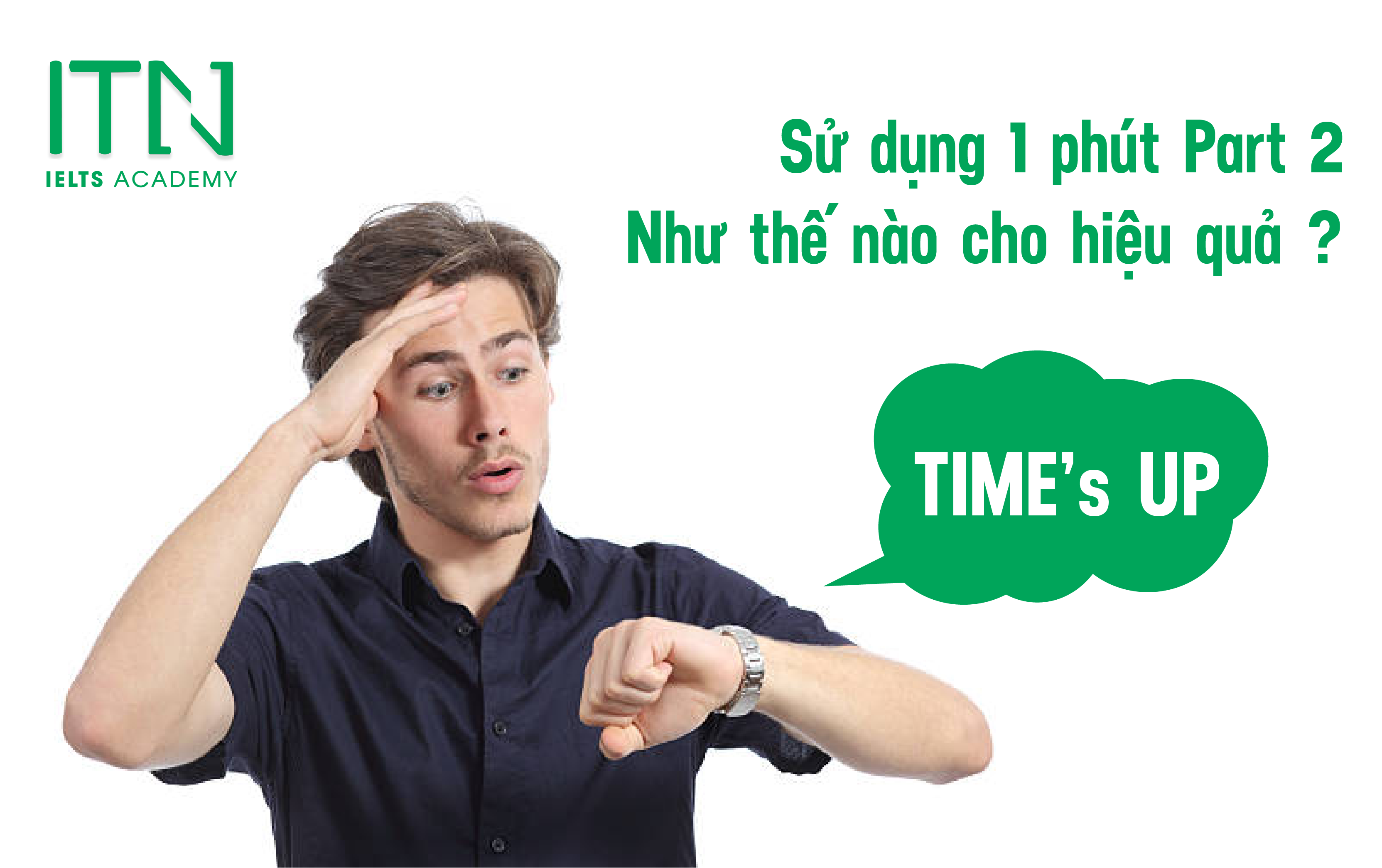 TIPS Sử Dụng 1 phút IELTS Speaking Part 2Thật Hiệu Quả