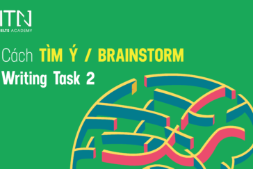 Cách Tìm Ý/ Brainstorm Trong Writing Task 2